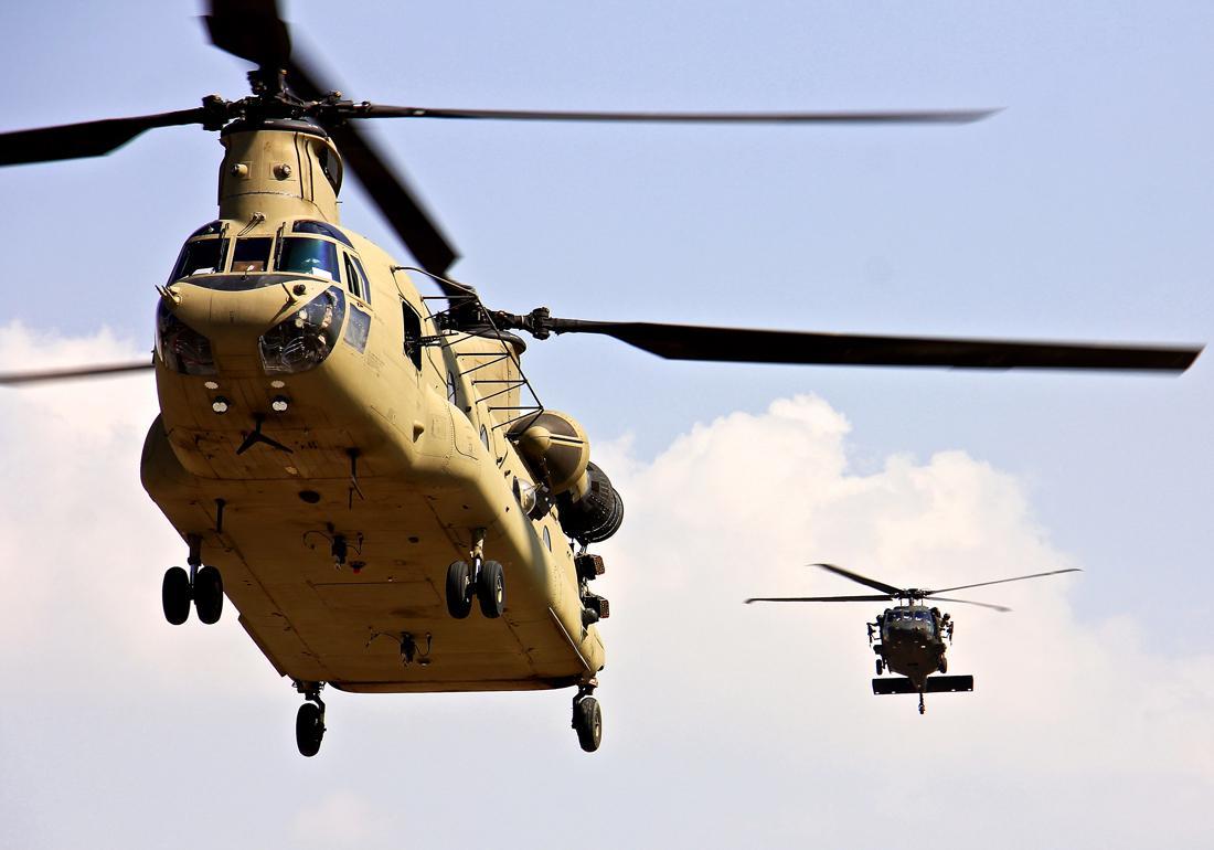 BOEING CH-47 CHIN BUBBLE